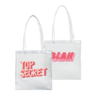 Custom logo Vinyl Main Squeeze Tote Bag