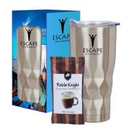 Promotional Custom Logo Vortex Stainless Steel Wake Up Tumbler