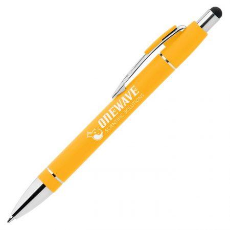 Promotional Custom Logo Voyager Softy Stylus Pen - Laser Engraving