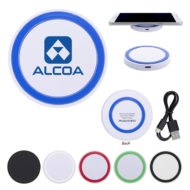 Custom Logo Printed Wireless Phone Charger