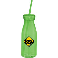 Promotional Products - Custom Imprinted Tumbler - Promotional Tumbler - Yolo Tumbler with Straw 18oz
