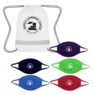 Promotional Custom Logo Youth Back To School 5-Day Mask Kit